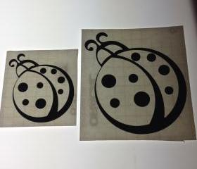 Wall Decor Lady Bugs